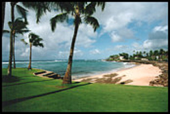 Lawai Beach in front of Vacation Rentals Condos - click for  more beach pictures
